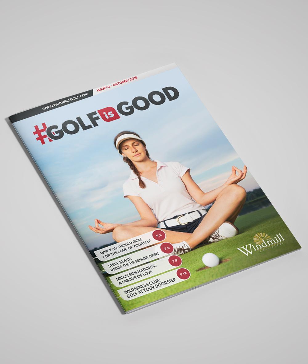 Magazine: #GOLFISGOOD